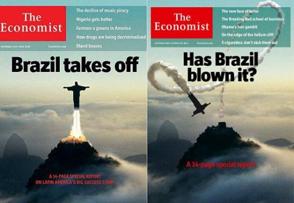 Capa polêmica The Economist
