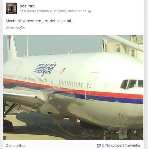 Avião Malaysian